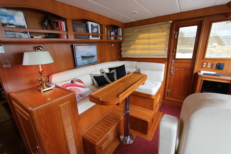 Pilothouse Settee and Table