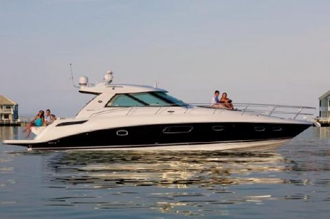 2010 Sea Ray 450 Sundancer - Manufacturer Provided Image