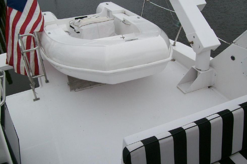 10' Boss Boat Dinghy w/ 15 hp Mercury w/ electric start