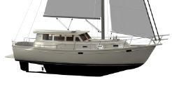 2021 Island Packet 42 Motor Sailer