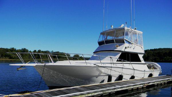 Viking 41 Convertible At the Dock