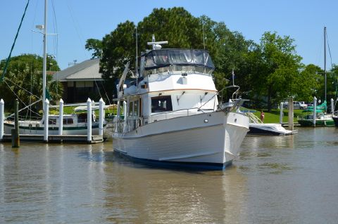 2002 Grand Banks 46 Europa - Bow on view