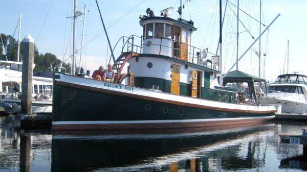 Tacoma Tugboat Classic Tug Dockside Exterior Port