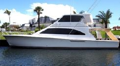 2001 Ocean Enclosed Flybridge