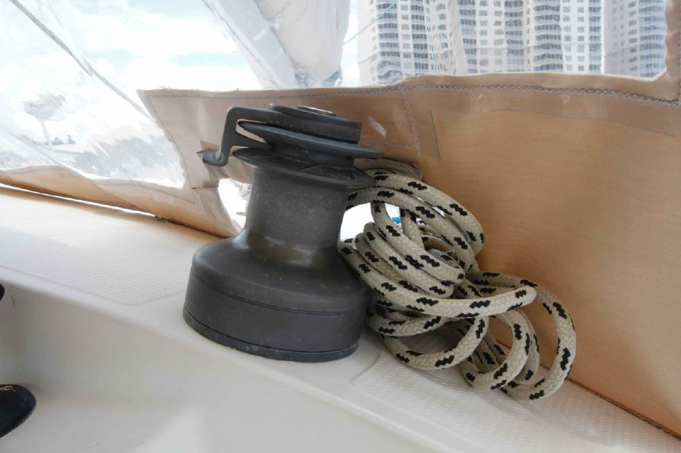 Fountaine Pajot 35 Tobago Self Tailing Winch