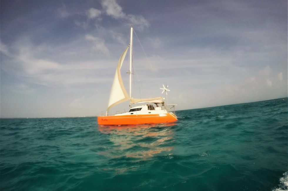 Fountaine Pajot 35 Sailing in the Caribbean