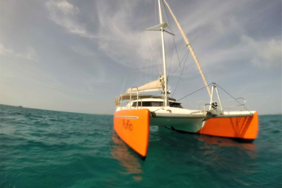 Fountaine Pajot 35 In the Caribbean