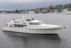 1990 Nordlund 70 Pilot House Motor Yacht