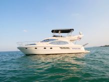2005 Azimut 46 Fly bridge motor yacht