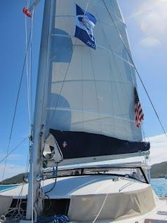 1996 Fountaine Pajot Venezia - New main and sail cover