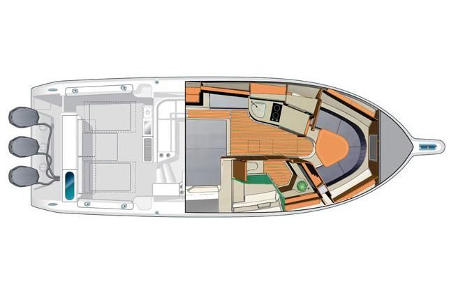 2014 Pursuit OS 385 Offshore - Manufacturer Provided Image