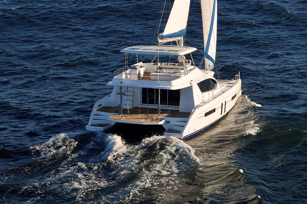 2018 Leopard 58 - Manufacturer Provided Image: Leopard 58 Stern
