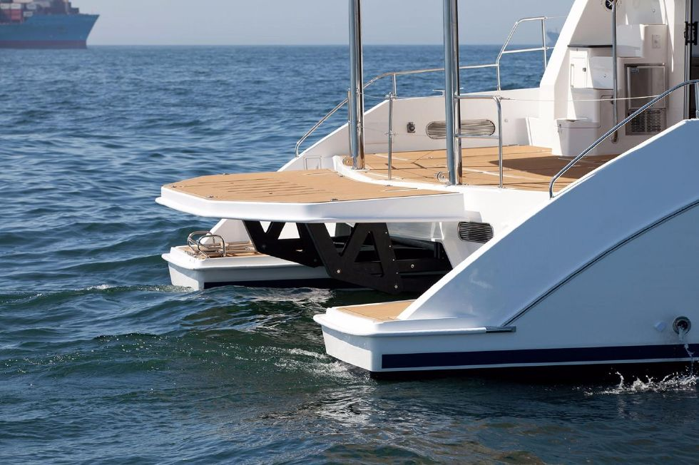 2018 Leopard 58 - Manufacturer Provided Image: Leopard 58 Bathing Platform