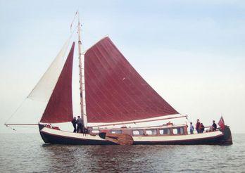 1902 Tjalk 17m Dutch Motor Sailing Barge
