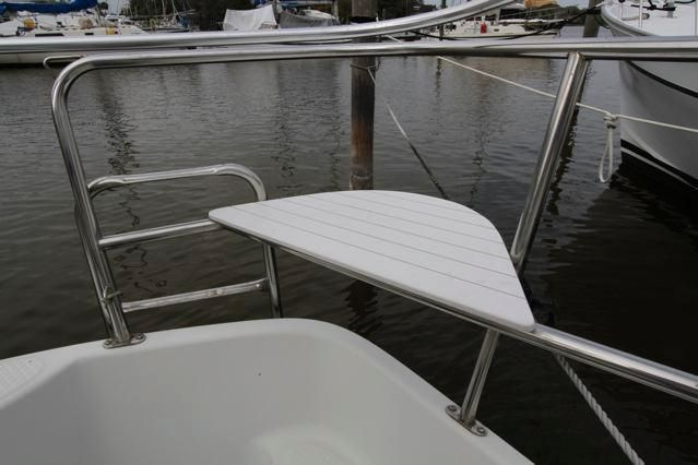 Seaward 25 Stern Rail Seats