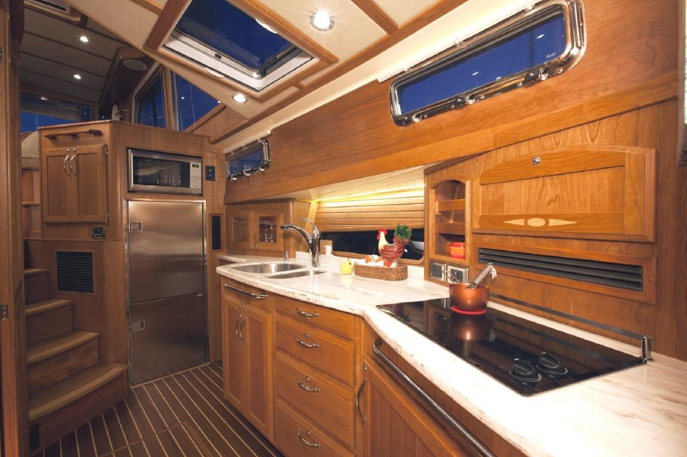 2017 Sabre 48 Flybridge Sedan - Galley (Sistership)