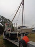 2011 Custom Barge, Crane