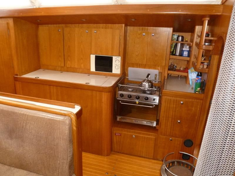 2008 Auzepy Brenneur Sloop - Auzepy Brenneur Sloop - Galley to Port
