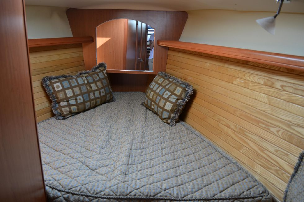 VIP Stateroom with Designer Fabric