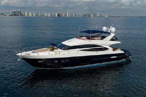 "2012 Princess 72 Motor Yacht - 2012 Princess 72' ''Down Time"" -  Profile"