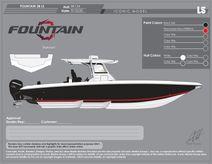 2021 Fountain 38 LS