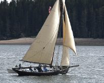 1996 Custom 50' Gaff Sloop
