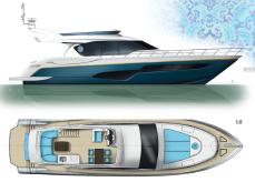 2020 Custom Puccini Yacht JING 65