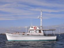 1970 Bristol Custom Flybridge Downeast Trawler