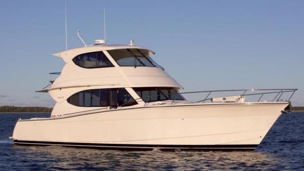 Maritimo 48 Cruising Motoryacht. Manufacturer Provided Image