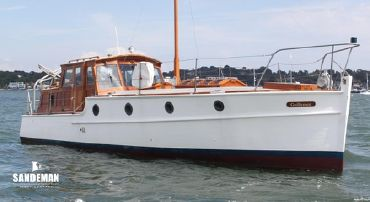 1924 Brooke And Co Twin Screw Motor Yacht