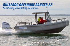 2018 Bullfrog 22 Offshore Ranger w/Trailer