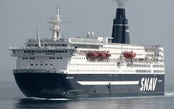 1981 Ro-Ro Cruise Passenger Ferry-1808 Passenger Berths 650 CARS - Stock No. S2169