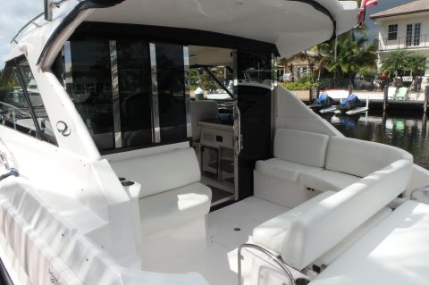 2012 Regal 42 SC Aft Glass Bigger Engines