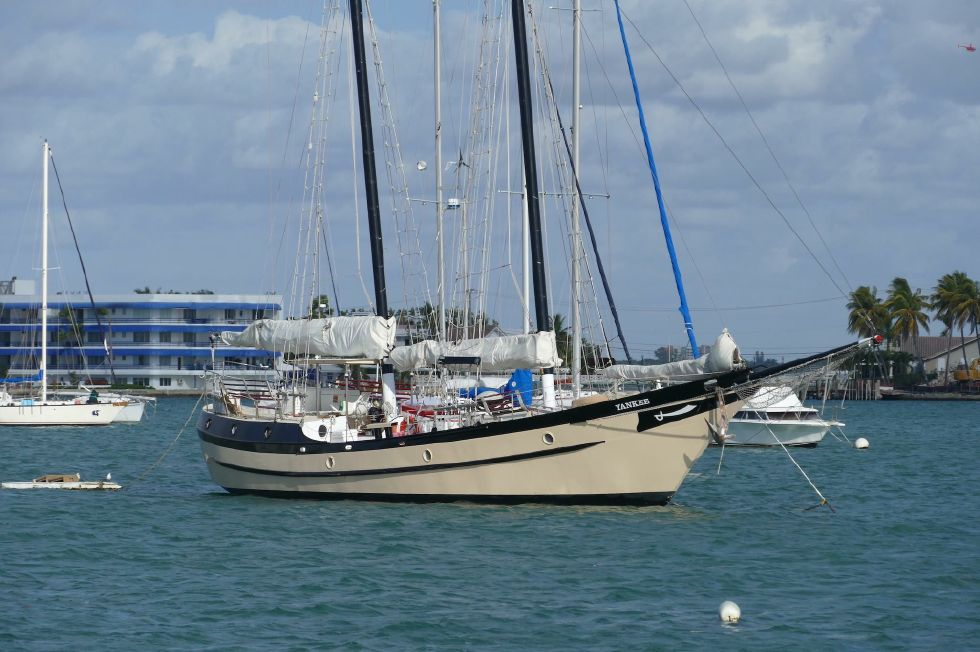 1984 Atlantic City Charter schooner - Profile