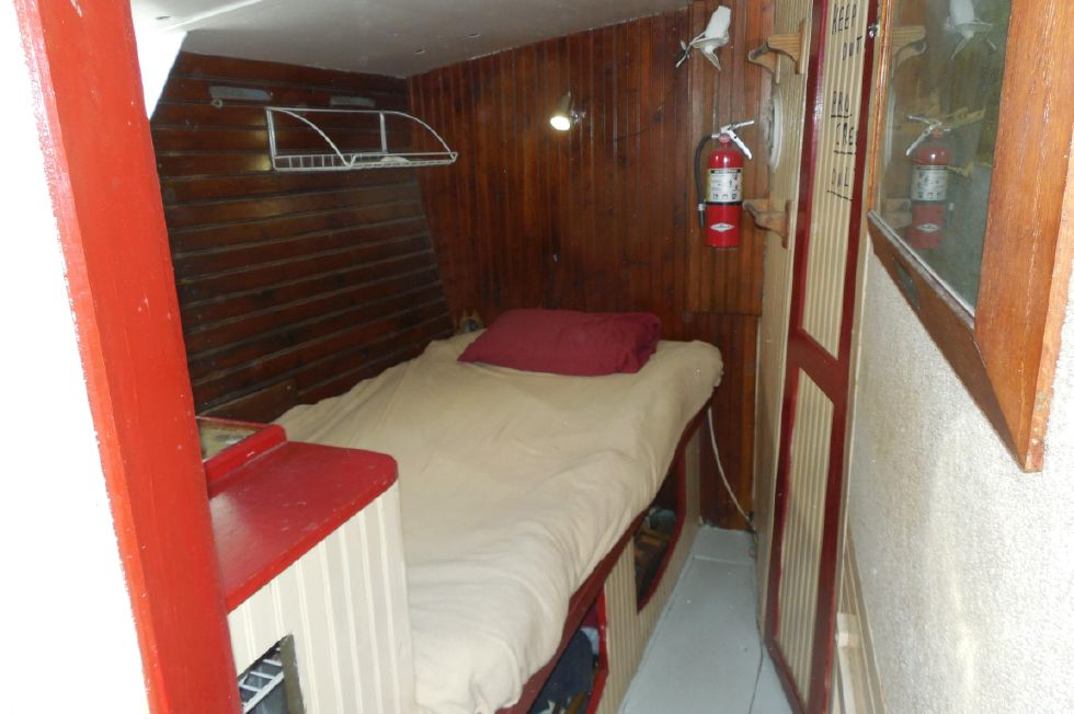 1984 Atlantic City Charter schooner - Captain's cabin