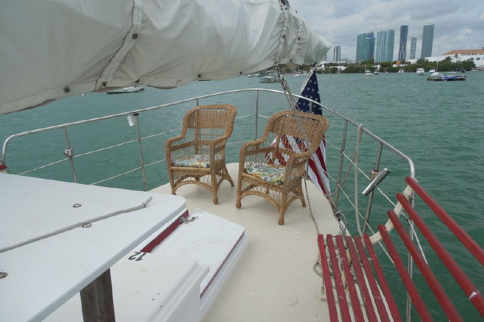 1984 Atlantic City Charter schooner - Fantail