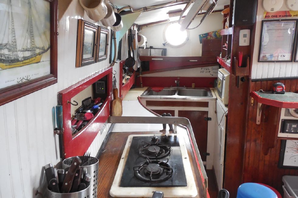 1984 Atlantic City Charter schooner - Galley 1