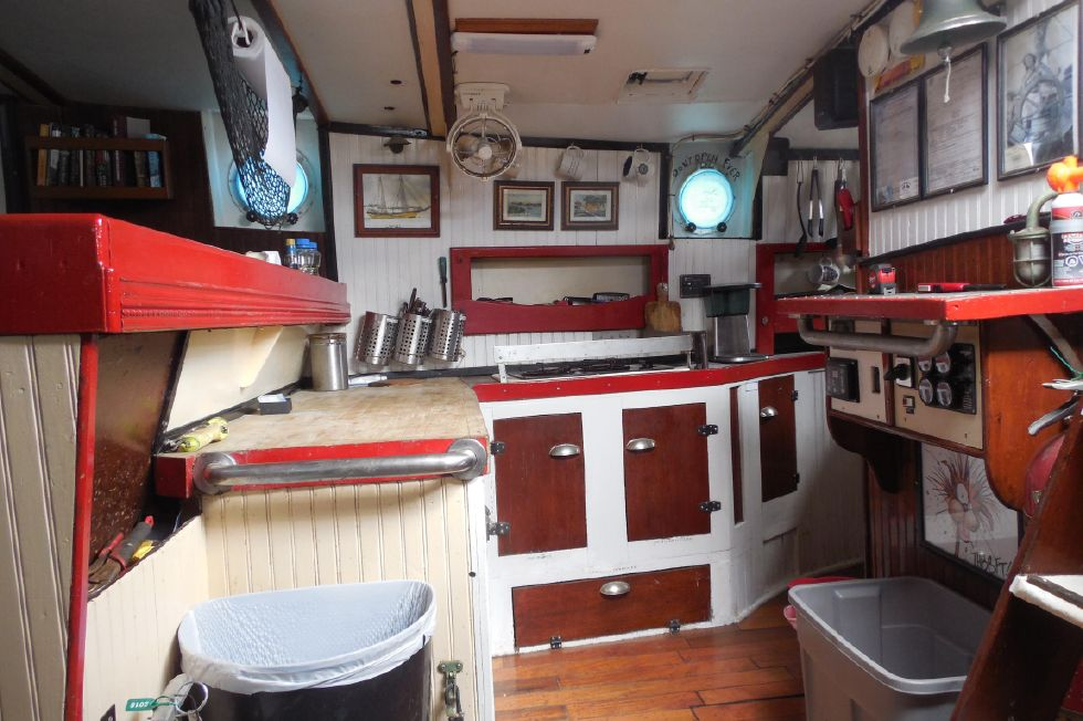 1984 Atlantic City Charter schooner - Galley