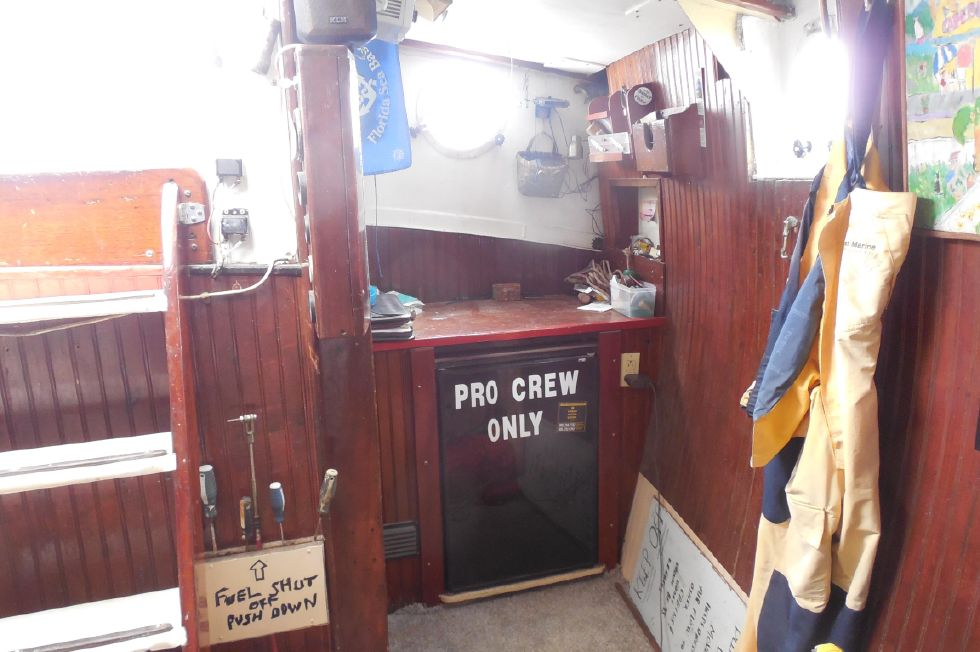 1984 Atlantic City Charter schooner - Nav desk