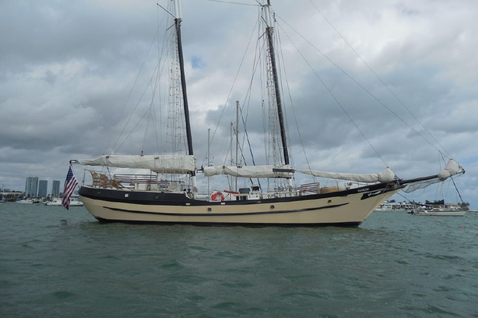 1984 Atlantic City Charter schooner - Profile 1