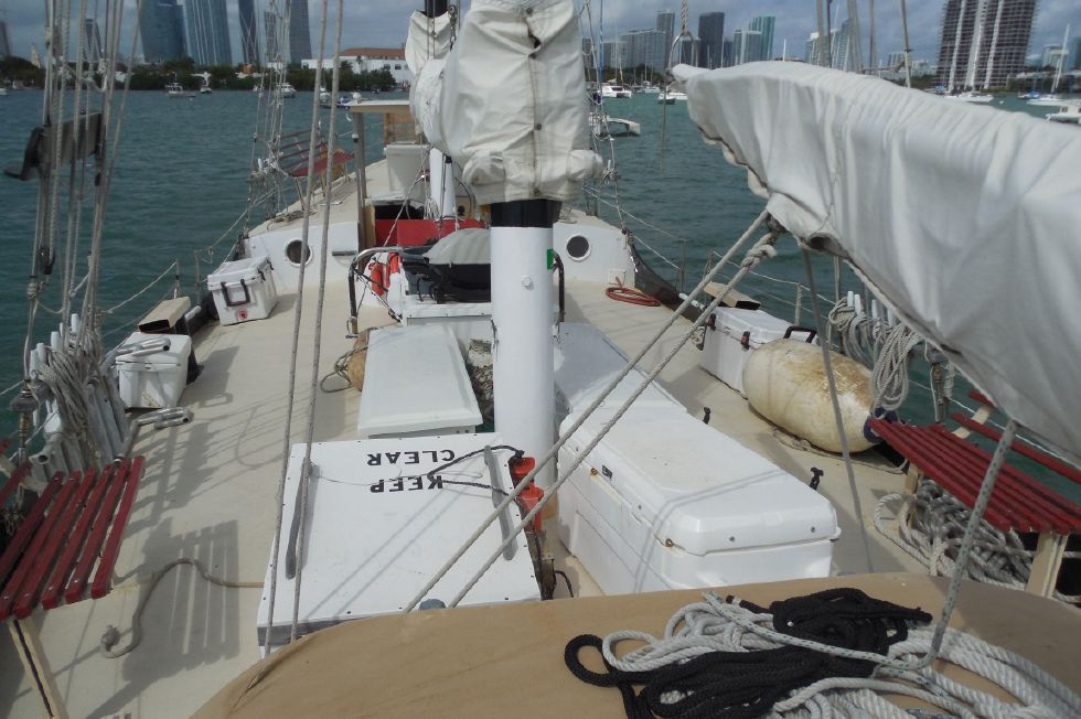 1984 Atlantic City Charter schooner - View aft