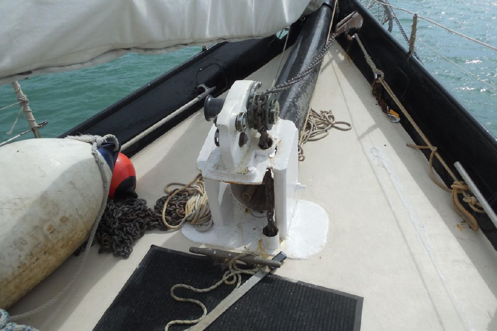 1984 Atlantic City Charter schooner - Windlass