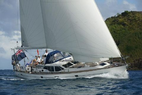 2004 Oyster 53 Deck Saloon - Manufacturer's image- Oyster 53
