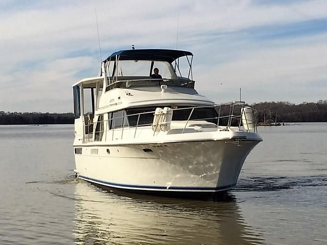 Terrific 1994 Carver 440 Aft Cabin Boats For Sale Nashville Yacht Creativecarmelina Interior Chair Design Creativecarmelinacom