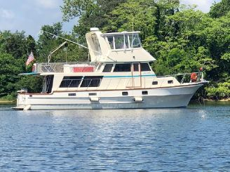 1984 Delta Marine 46 Sedan Trawler