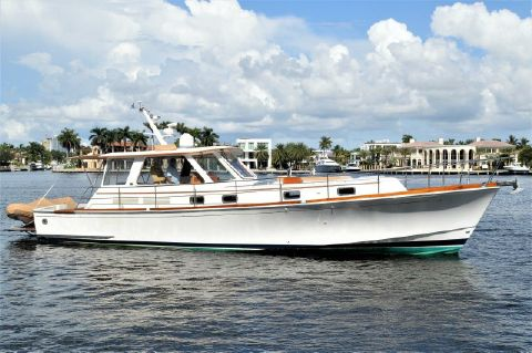2000 Grand Banks 49 Eastbay HX - 2000 Eastbay 49' ''Patricia'' - Profile