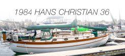 1984 Hans Christian Yachts Cutter