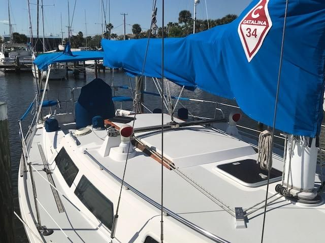 1993 Catalina 34 - Catalina 34 Deck