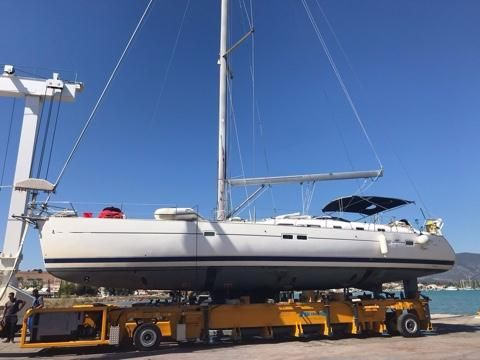 2005 Beneteau Oceanis - Stored on the hard