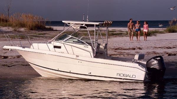 Robalo R235 Walkaround Manufacturer Provided Image